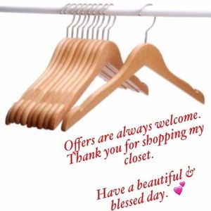 Other - Thank you for shopping my closet